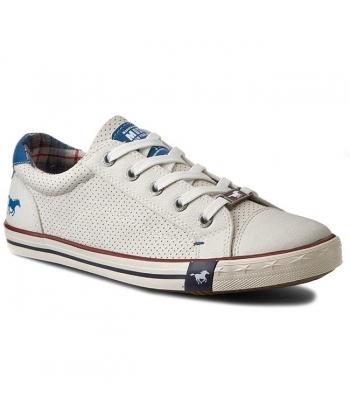 806e743f11 Dámske tenisky biele MUSTANG