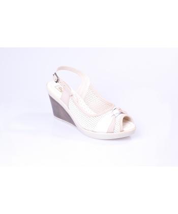 Sandále biele REGINA