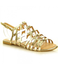 Zlaté sandálky EVENTO