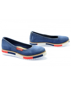 Denimové topánky LANQIER