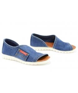 Denimové sandálky LANQIER