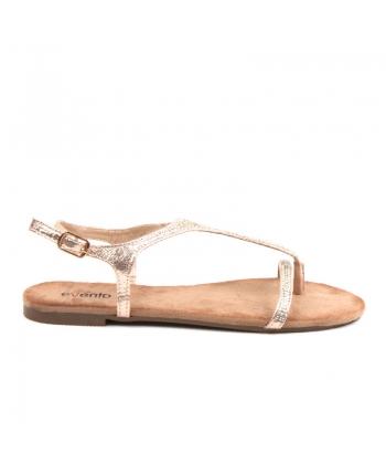 fb293e7f9ecf Zlaté sandálky EVENTO