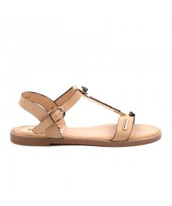 Béžové sandálky EVENTO