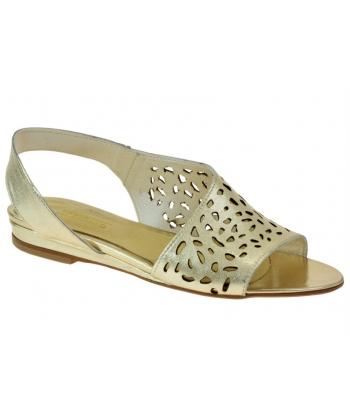 aa695235f0f3 Dámske strieborné sandálky LAMELIA