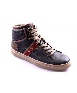 Pánske tmavosivé topánky MUSTANG