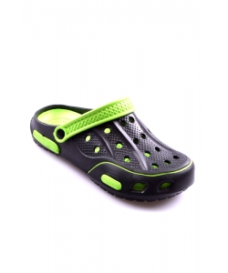 Sandále čierno-zelené HASBY