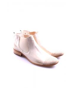 Členkové topánky zlaté EXQUISITE
