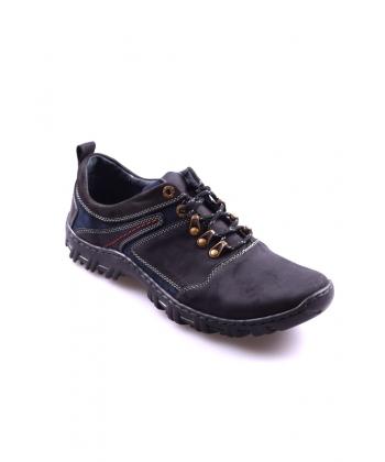 Pánske topánky čierne FOX e6a0b7199a3