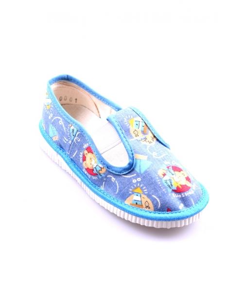 43decdce6 Detské papučky modré Detské papučky modré