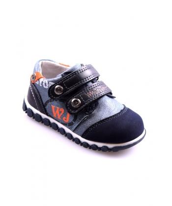 494a74f9eef2 Detské topánky tmavomodré WOJTYLKO ...
