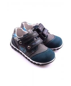 Detské topánky sivomodré WOJTYLKO