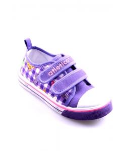 Detské tenisky fialové Atletico
