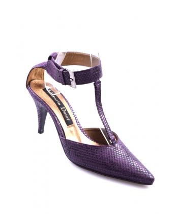 7bfd9604555fd Sandále fialové Victoria Delef