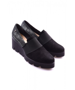 Topánky slip- on čierne Evento