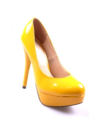 2dd54c44ac Lodičky žlté CHIX