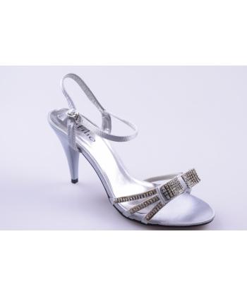 85b54f01b999d Sandále strieborné INFILIO