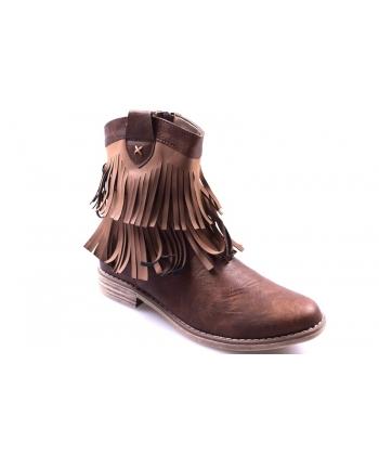 36d006dbfcafa Členkové topánky hnedé AMERICAN