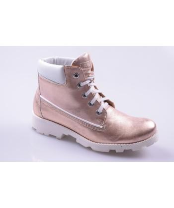4cf5332f06b0 Členkové topánky ružovo-zlaté