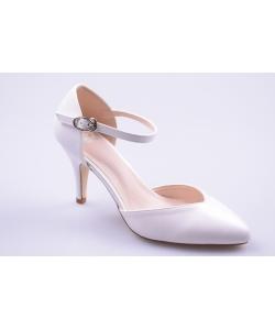 Sandále biele JOHN GARFIELD