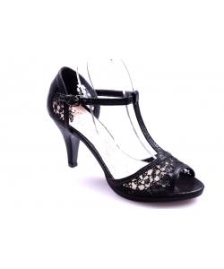 Sandále čierne LA MARIA