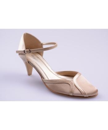 e940b9c44b7d Sandále zlaté REGINA