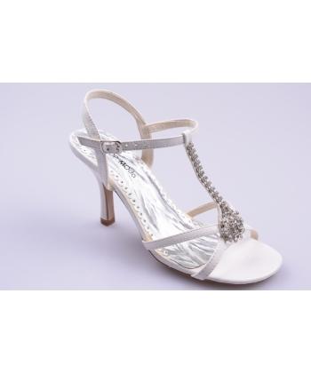 782aa803e5ca Sandále biele TOP MODA