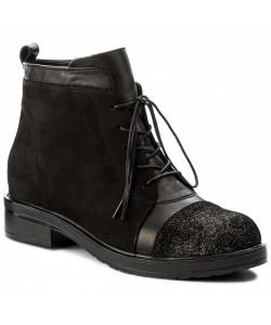 Dámske čierne čižmy Lanqier