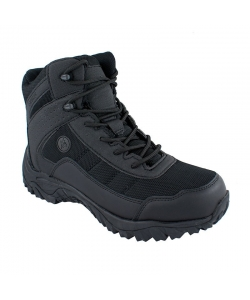 Pánske čierne trekingové topánky Vemont