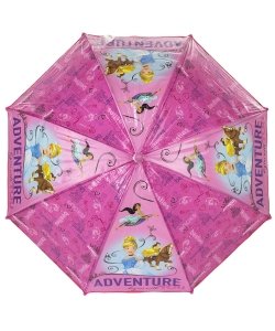 Dáždnik ružový Disney Princess