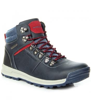f156599527 Mládežnícke modré topánky WISHOT ...
