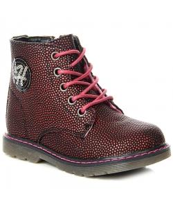 Dievčenské bordové topánky