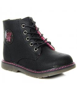 Dievčenské čierne topánky
