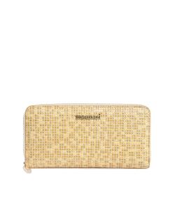 Peňaženka zlatá MONNARI