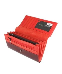 Bordová peňaženka CAVALDI