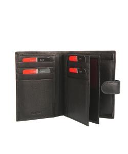Pánska čierna peňaženka P.CARDIN