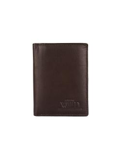 Pánska hnedá peňaženka WILD