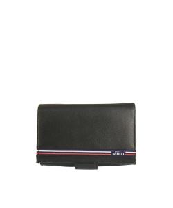 Pánska čierna peňaženka WILD