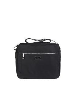 Pánska čierna kabelka