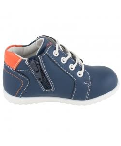 Modré chlapčenské topánky WOJTYLKO