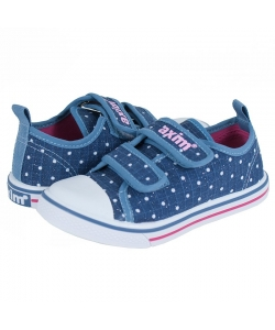 Modré dievčenské tenisky AXIM