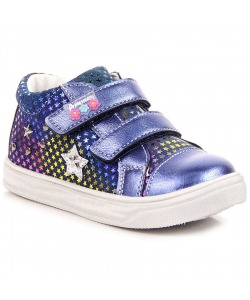 Dievčenské modré prechodné topánky AMERICAN