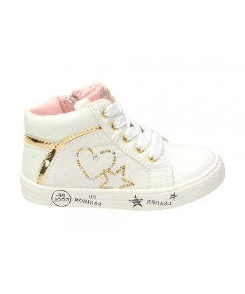 89839592dbc4d Členkové topánky biele AMERICAN
