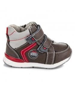 Členkové hnedé topánky AMERICAN