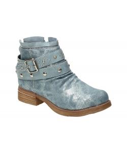Členkové topánky modré WISHOT