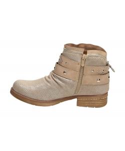 Členkové topánky béžové WISHOT