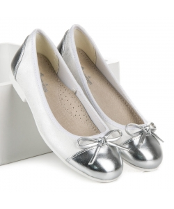 Dievčenské biele balerínky American