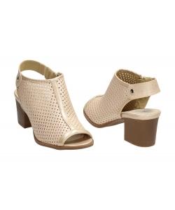 Dámske béžové sandálky Wishot