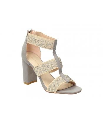 e2d1e4a740ce Dámske sandálky grey Wishot