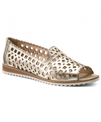 4e4f3e6eb0051 Dámske kožené sandálky Lanqier