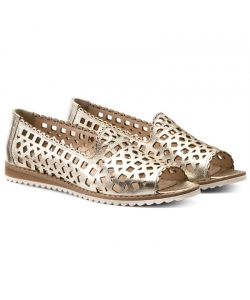 Dámske kožené sandálky Lanqier